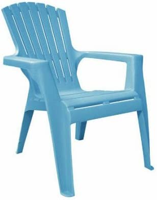 Adams 8460-21-3731 Kid s Adirondack Stacking Chair, Pool Blue