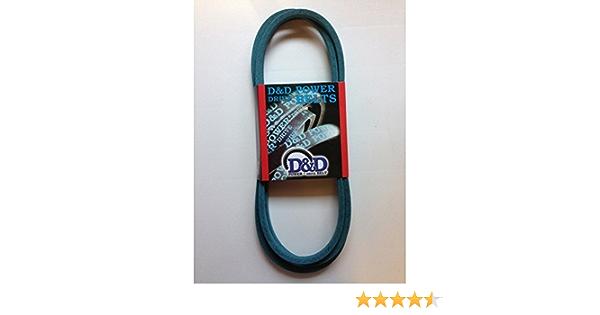 81 Length 0.5 Width D/&D PowerDrive 119-8821 Toro or Wheel Horse Kevlar Replacement Belt