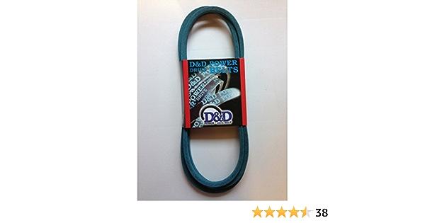 164 Length 0.62 Width 164 Length 0.62 Width D/&D PowerDrive 937806R1 Case Ih Replacement Belt