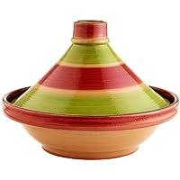 Lakeland - Tajine Marocain Traditionnel Céramique (28cm dia x 22cm H 1,2L)
