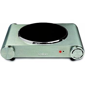 Amazon.com: Salton hp1502 solo quemador infrarrojo gama de ...