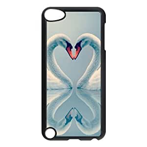 LZHCASE Design Phone Case Swan For Ipod Touch 5 [Pattern-1]