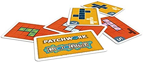 Lookout Games 22160107 - Juego de Mesa (Patchwork): Amazon.es ...