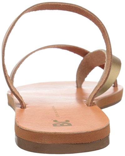 Sandalias De Tobillo Pequeña Bc Footwear Para Mujer Tan / Gold