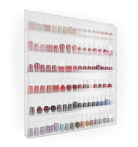 Home-it Nail Polish Rack Nail Polish Organizer Holds up to 102 Bottles Great nail polish holder nail polish storage
