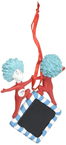 Department 56 Dr. Seuss Thing 1 and Thing 2 Personalized Hanging Ornament