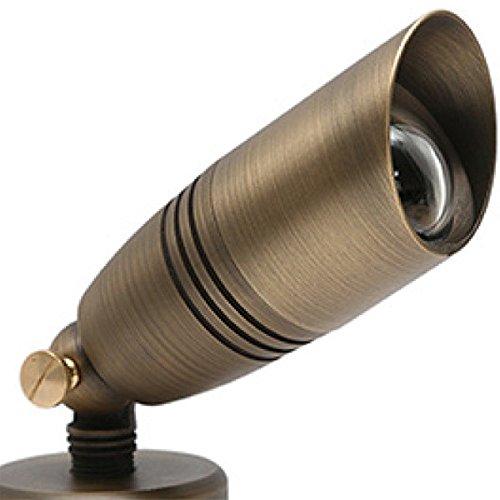 LED Ready Directional Bullet Light 12V For Use with 6 Watt LED MR16 PLT 50106 (Mr16 Bullet Decorative)