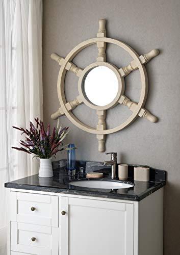 Kenroy Home Natural - Kenroy Home Helmsman Wall Mirror, 40