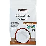 Nutiva Organic Coconut Sugar, Unrefined, 1 Pound