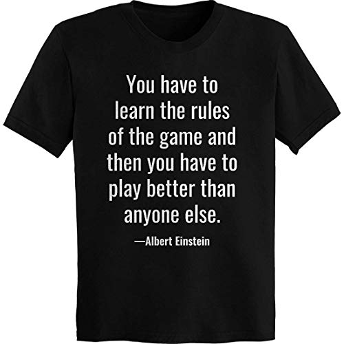 e Rules of The Game T-Shirt Black ()