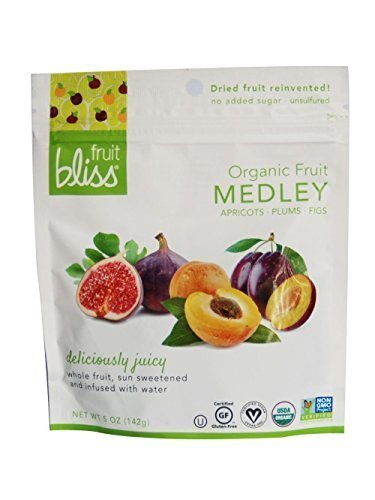 (Fruit Bliss Organic Dried Fruit Medley, 5 oz, Pack of 6)