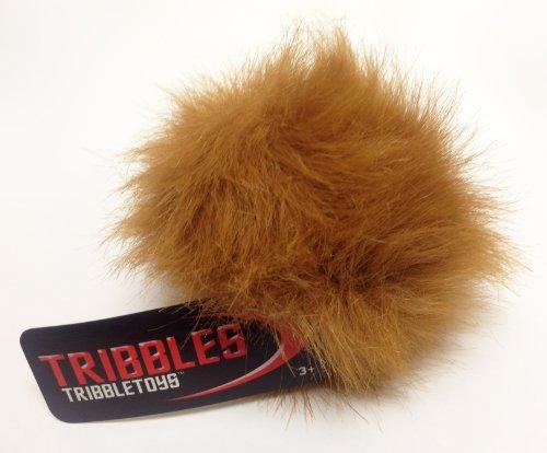 - STAR TREK PLUSH TRIBBLE - Lt Brown Desert Tribble - Small Size
