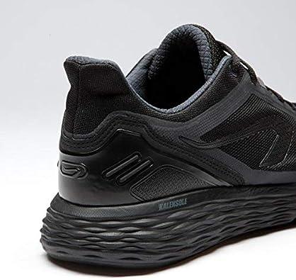 Kalenji - Zapatillas de running de Caucho para hombre, color Negro, talla 39 EU: Amazon.es: Zapatos y complementos