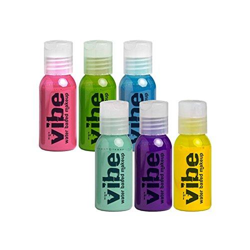 Vibe Glamour 6 Pack, 4oz by European Body Art