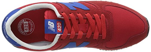 Lifestyle Balance Red Zapatillas U420 Adulto Blue Rojo New Unisex Snrr 1EqBdWnw