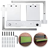 Happybuy DIY Murphy Bed Hardware Kit Horizontal Mounting Wall Bed Springs Mechanism Heavy Duty Bed Support Hardware DIY Kit for Queen Twin Size Bed (Horizontal)
