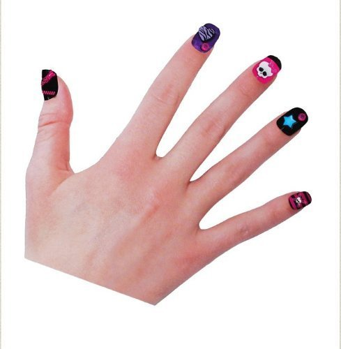 Nail Monster High (Monster High Ghoulicious Nails - Pop Grrl Nail Charms)