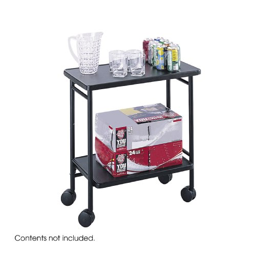 UPC 073555896527, Safco Products 8965BL Folding Office Hospitality Cart, Black