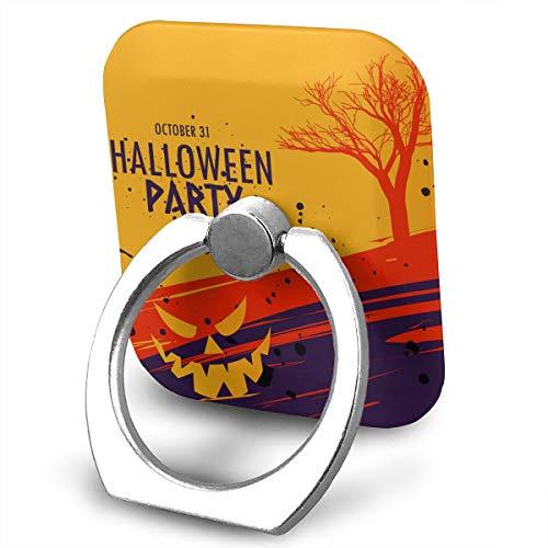 SJWE0 Happy Halloween Celebration MobilePhone Ring Holder Stand,