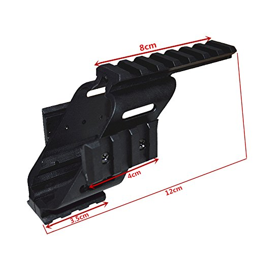 HWZ 2017 New Arrival Universal Tactical Pistol Scope Sight Polymer Light Weight Mount With 7/8
