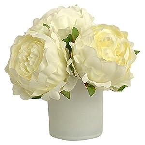 RG Style Silk Peonies in Decorative Vase Artificial Floral Arrangement 26