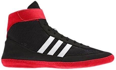Adidas velocidad Combat 4 Tamaño de lucha Zapatos de jóvenes Bahía Azul / cal 1,5 Black / Collegiate Red / White
