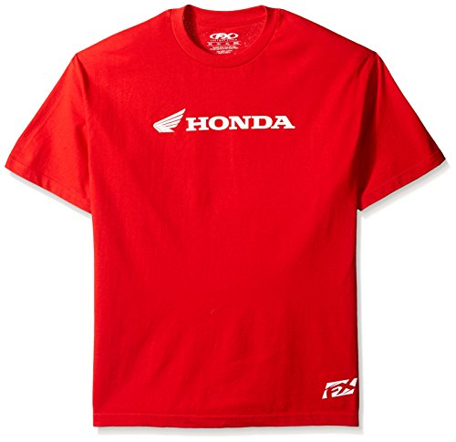 Factory Effex 15-88334  'Honda' Horizontal T-Shirt (Red, X-Large)