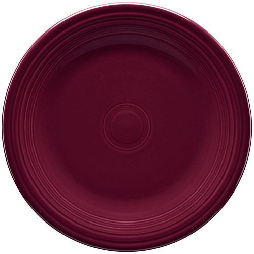 Fiesta 7-1/4-Inch Salad Plate, Claret (Fiestaware Salad)