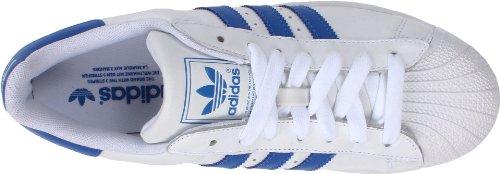 Superestrella De 2 Adidas Zapatilla De Deporte De Los Hombres Originales Funcionamiento Blanco / Satélite / Satélite Compre barato con Paypal Venta barata amplia gama de RXysNOZ