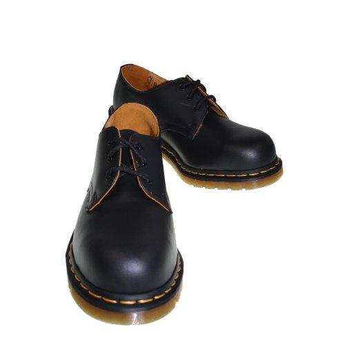Dr. Martens 1925 5400 10111001 - Mocasines de cuero unisex con puntera de hierro Negro (black)