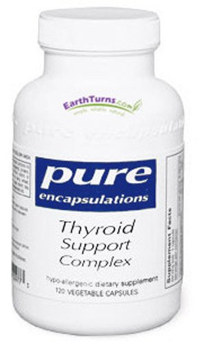 Soutien de la thyroïde 120ct complexe par Pure Encapsulations