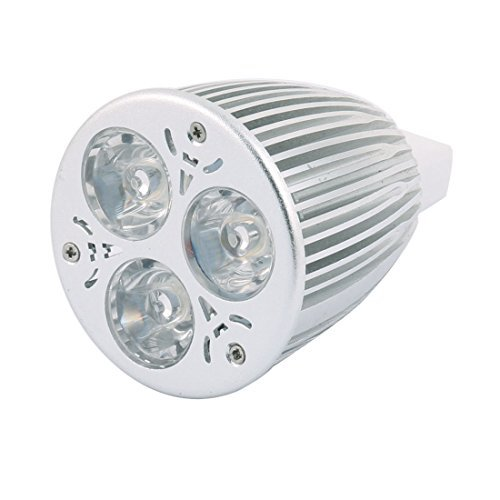 DealMux DC 12V MR16 9W 3 LED ultra brillante COB bulbo del ...
