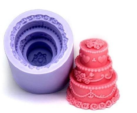 Allforhome - Molde de silicona con diseño de pájaros para hacer velas y jabón líquido: Amazon.es: Hogar
