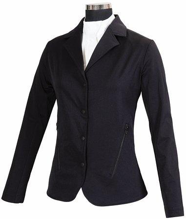 Childrens Show Coat - Equine Couture Childs Addison Show Coat L Black