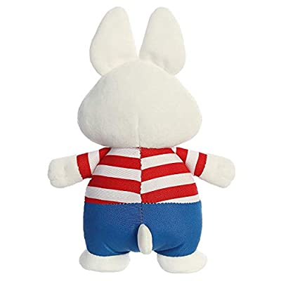 Aurora Bundles of 2 6.5 Inch Plush Animals: Max and Ruby Bunnies: Toys & Games