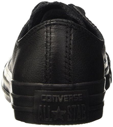 Converse All Star Ox Leather, Unisex Adults' All Star Ox Leather Black (Black)
