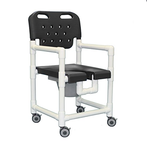 Elite Shower Commode Chair ELT817 P (Gray) by IPU