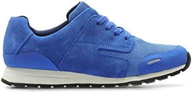 Clarks , Chaussures de Ville à Lacets pour Femme Bleu Bleu - Bleu - Bleu, 30 G EU
