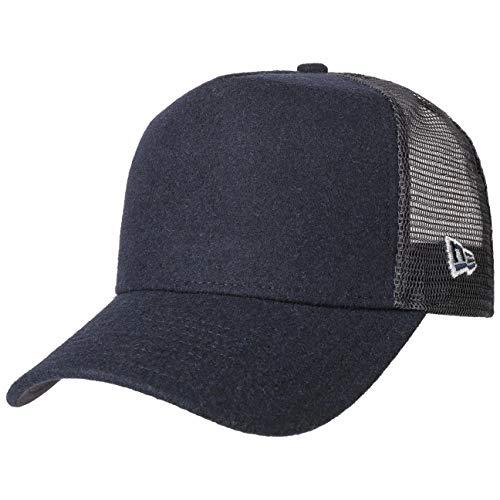 Scuro Melton Mesh New Baseball Trucker Cappellino Berretto Winter Era Cap Blu faIqv