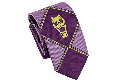 C-ZOFEK - Corbata de seda con diseño de calavera de Jojo Bizarre ...