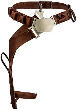 Han Solo Cosplay Belt Holster Pu Leather Costume Accessories Props