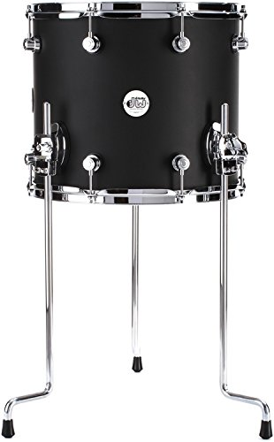 DW Design Series Floor Tom - 12 Inches X 14 Inches Satin Black by DW