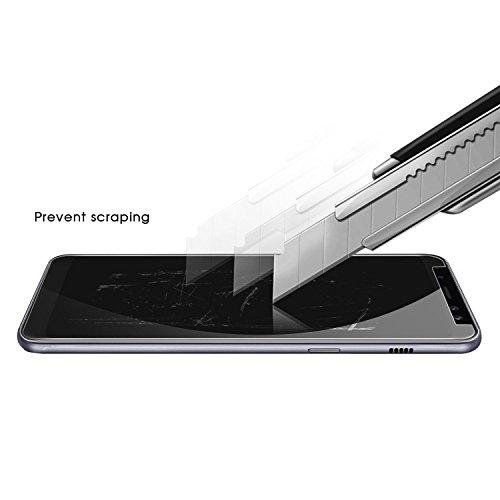Funda para OnePlus 5T , IJIA Transparente TPU Silicona Suave Cover Tapa Caso Parachoques Carcasa Cubierta para OnePlus 5T (6.01) + Una hoja Película protectora de vidrio templado