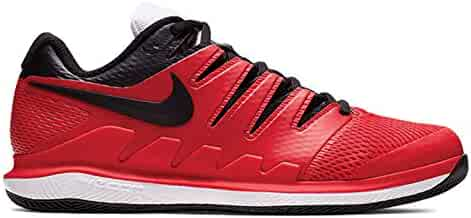 online store b01a2 7daf1 Nike Air Zoom Vapor X Mens Tennis Shoe (10 D US, University Red