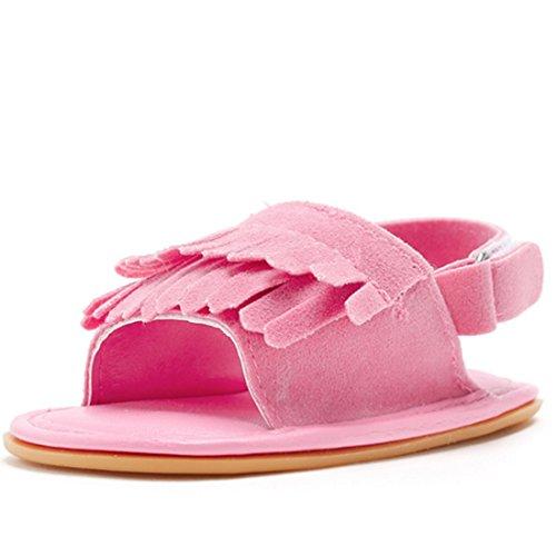 Belsen - Zapatos primeros pasos de Material Sintético para niña azul azul M(12cm) Rose Red