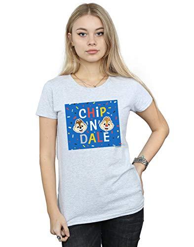 Frame shirt Gris N Blue Dale Chip Sport Femme T Disney q0TSwXw