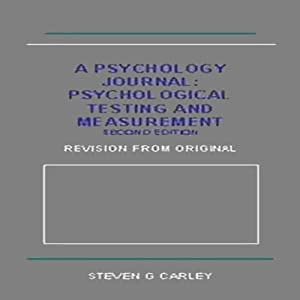Psychological Testing and Measurement Audiobook