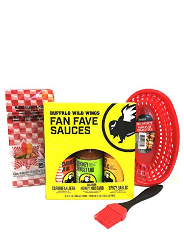 Buffalo Wild Wings Fave Fave Sauces Wing Night Kit (Best Buffalo Wild Wings Food)