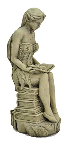 DSL Amelia-Fairy Garden Ornament-Sculpture-Stone Statue-Decorative Gift