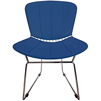 Full Cushion And Back Pad For Bertoia Side Chair   Vinyl   Fits Original Or  Reproductions